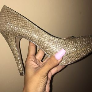 High Heels Gold Call it Spring Sparkle